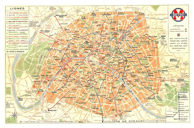 Subway Maps 1 a gallery on Flickr – Map Subway Paris