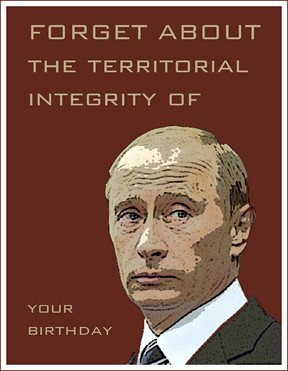 Birthday Card For A Russian Major