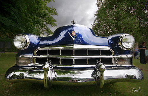 Content fuels your website, just as gas fuels this Cadillac.