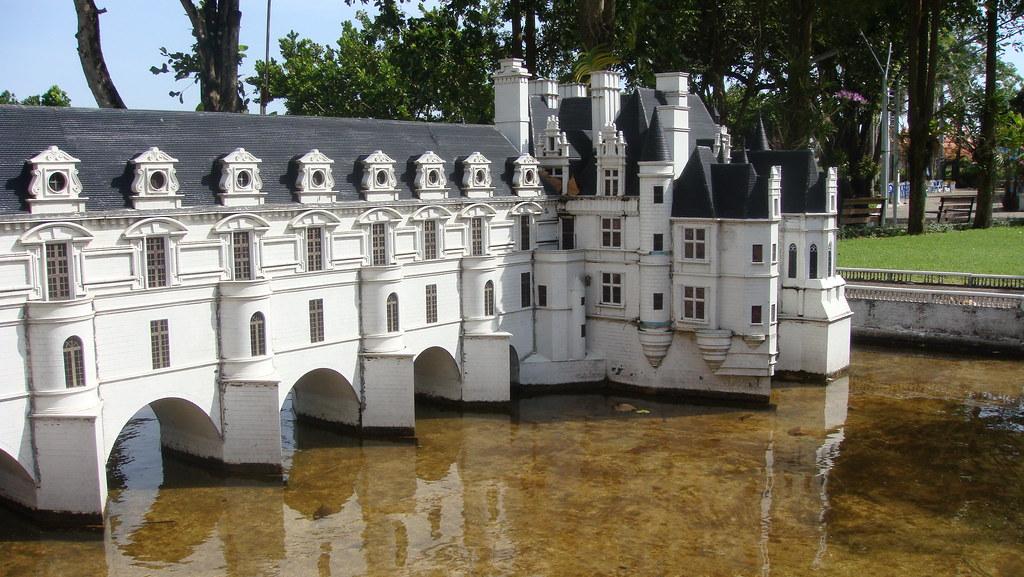 Castillo de Chenonceau miniatura
