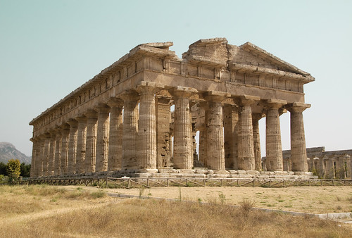 Temple of Hera , Paestum, Italy