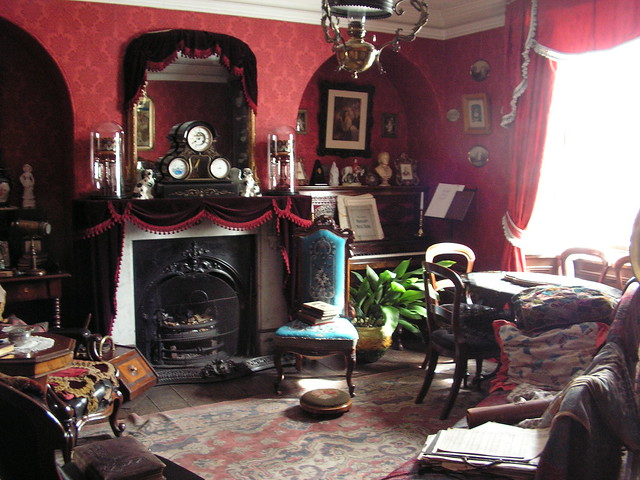 Victorian Sitting Room Beamish Museum Tyne And Wear