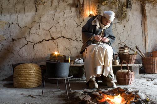 medieval beekeeper