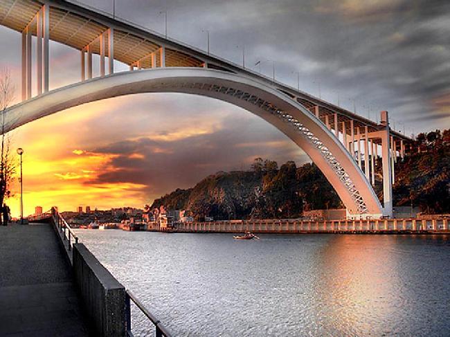 OPORTO _ Arrábida Bridge over the Douro River ~~ THANK YOU ALL !!