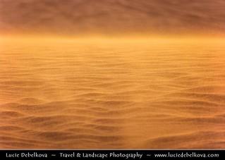 Qatar - Just dust in the wind in Qatar Desert