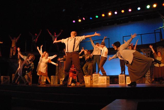 Urinetown burnsville high school theatre guild proudly for Burnsville theater
