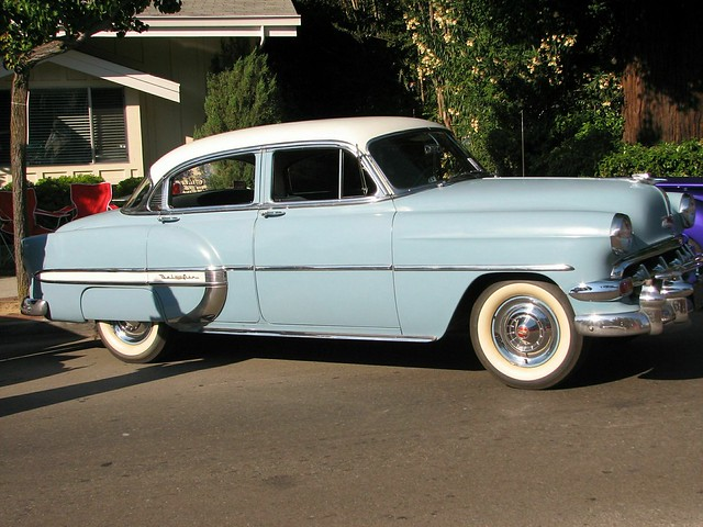 1954 chevrolet bel air 4 door sedan 1 flickr photo