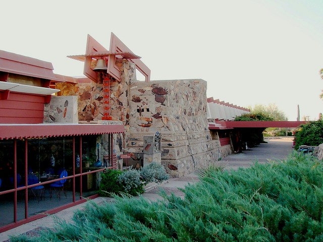 Taliesin West - dinner area