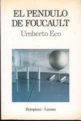 Umberto Eco, El péndulo de Foucault