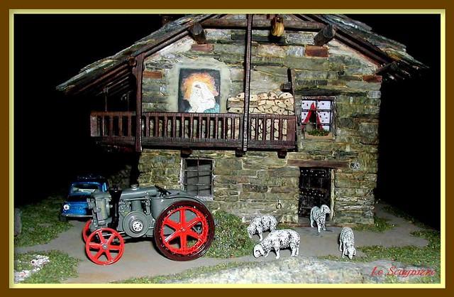 Casetta di pietra scala 1 45 flickr photo sharing for Case legno e pietra