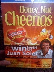 Who the heck is Juan Soler and why would I want to eat breakfast with him?