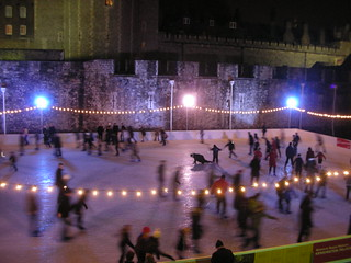 Ice Skating @Tower of London