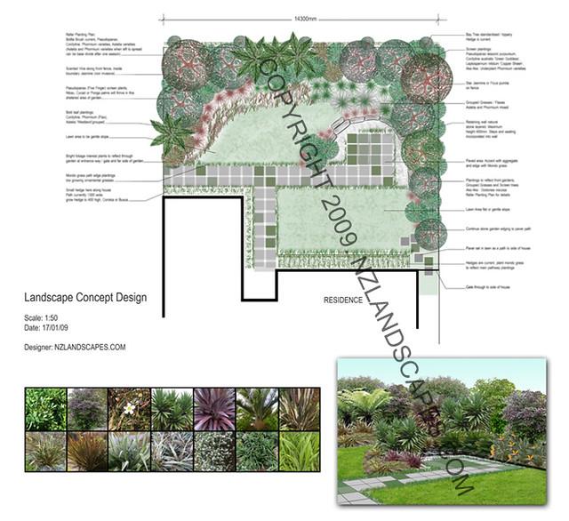 Landscape design nz auckland landscape designer concept for Landscape design nz