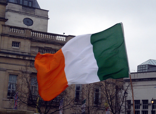 Irish Tricolour photo