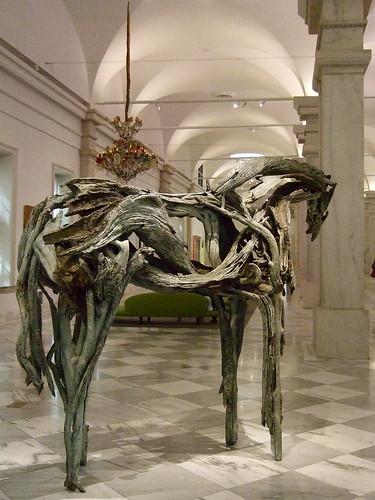 "SAAM_Monekana (Bronze ""Driftwood"" Horse by Deborah Butterfield, 2001)"