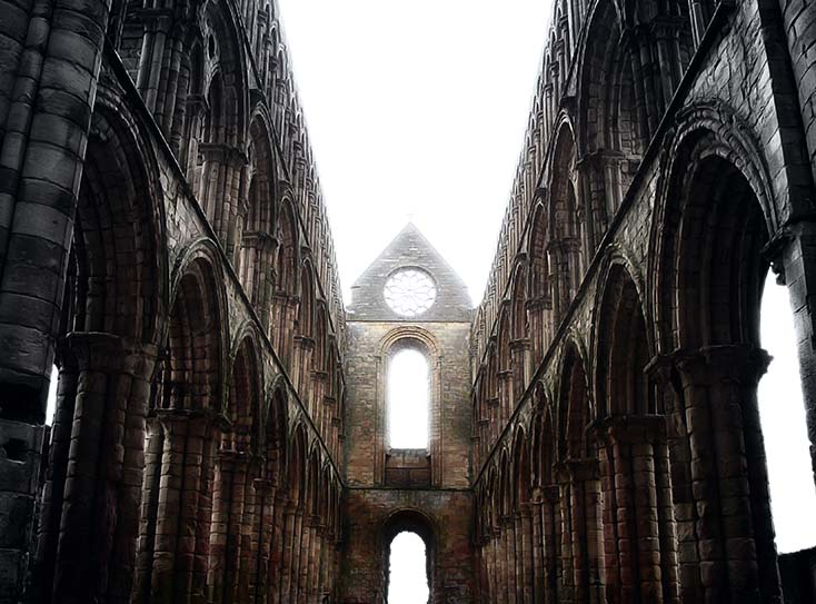 Photography - Jedburgh Symmetry by Nicholas M Vivian