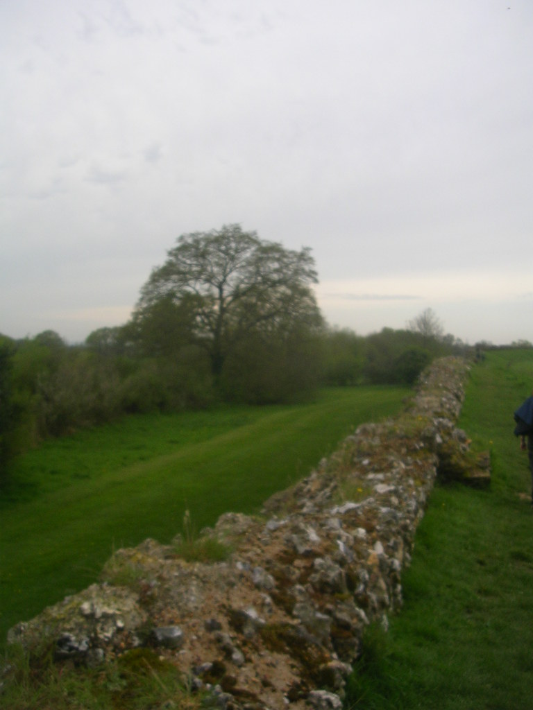 Calleva wall Mortimer to Aldermaston