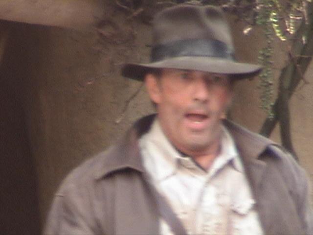 Indiana Jones™ and the Secret of the Stone Tiger Revealed!, Aladdin's Oasis, Adventureland, Disneyland®, Anaheim, California, 2008.05.26 15:31