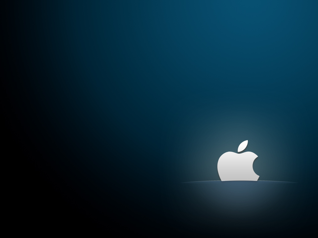 25 elegant and calming apple wallpapers psdfan for Simple elegant wallpaper