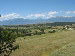 Pirin mountains in summer
