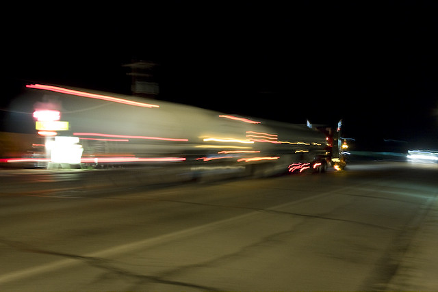 Trucks Heading Westward
