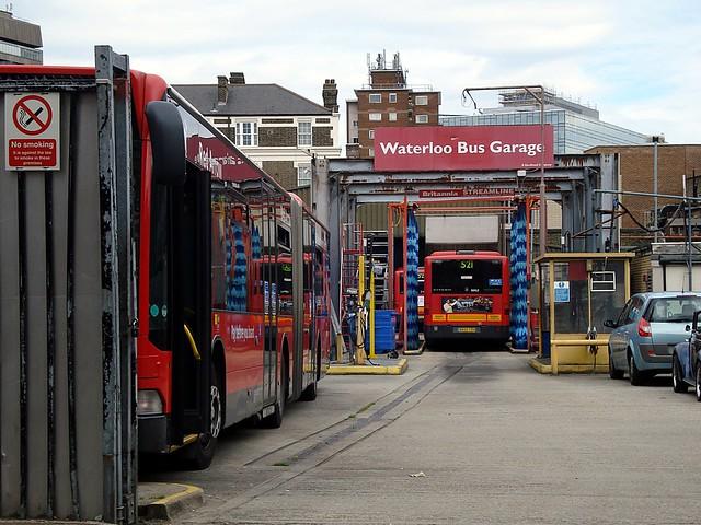 XX: Waterloo Bus Garage (attempt 1) | Flickr - Photo Sharing!
