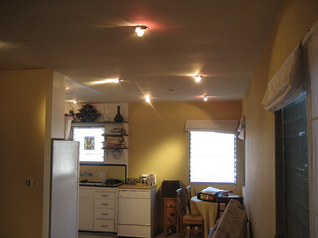 Recessed Lighting In The Dining Room Not Fully Installed Flickr Photo S