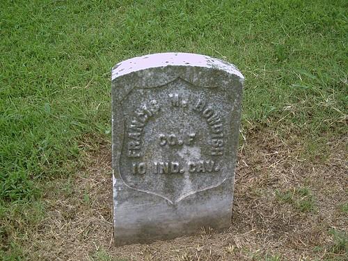 union indiana hobby civilwarveteran elmwoodcemetery coffeyvillekansas tombstonephoto francismbowdish cof10thindcavalry kansasvirtualcivilwarveterancemetery