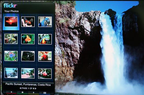 Flickr on Widget Channel