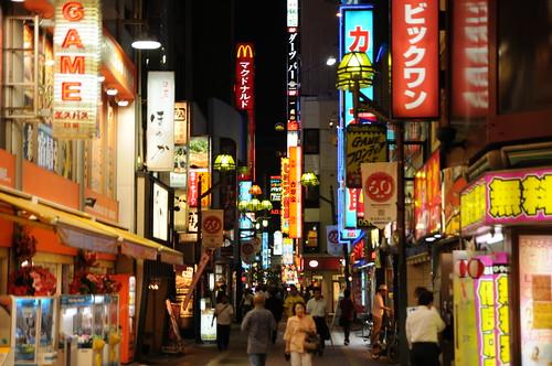 Kabukicho's lights (Tokyo, Japan) - 無料写真検索fotoq