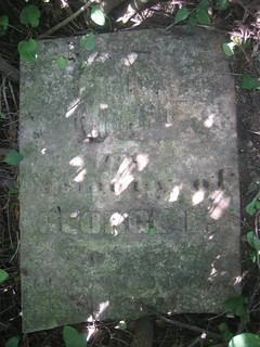 George F. Smith - buried in 1856 at Smith Family burying ground, South Dorchester, Elgin, Ontario, Canada