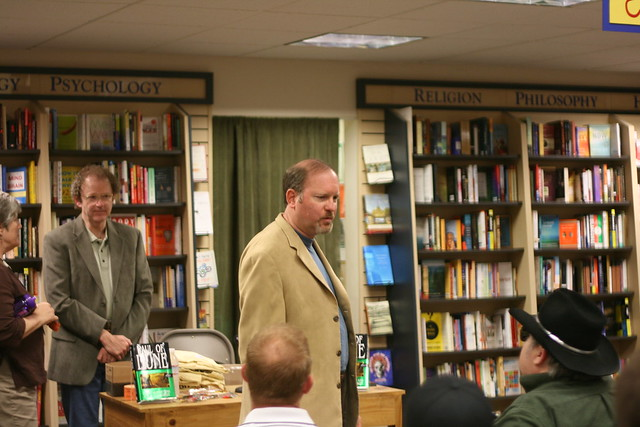 Brian Herbert & Kevin J. Anderson book signing at Books Inc. in Mountain View