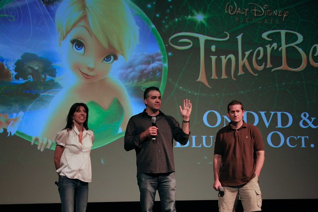 WDW Sept 2008 - TinkerBell Movie Passholder Preview