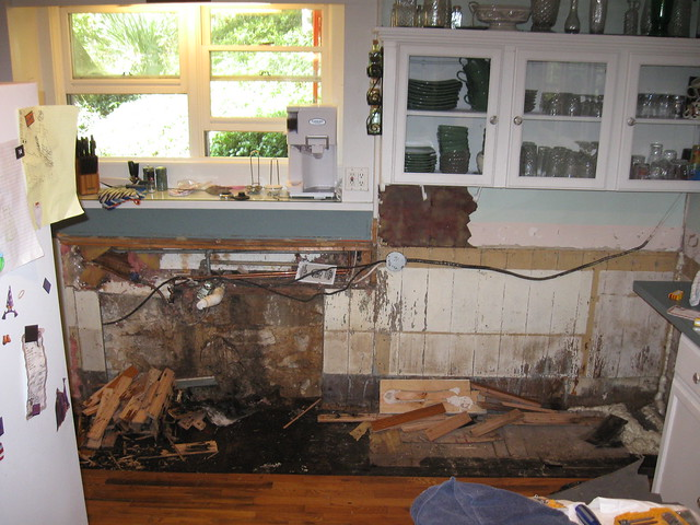 Ouch kitchen water damage | Flickr - Photo Sharing!