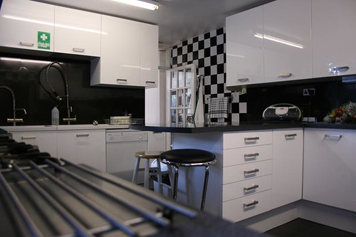 Our quality commercial kitchen for use by self catering groups
