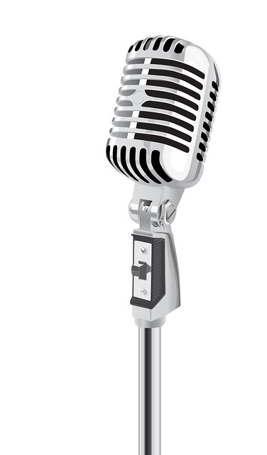 Retro Microphone vector | Flickr - Photo Sharing!