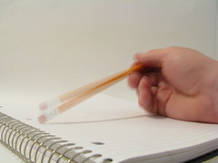 Tapping a Pencil