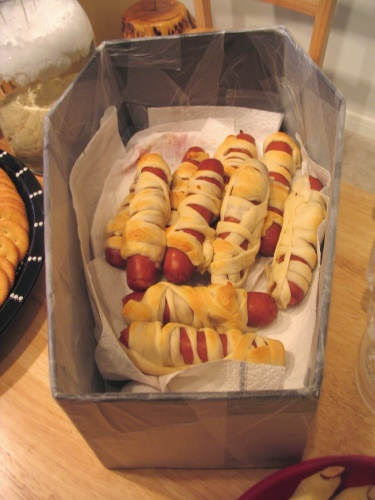 Hot Dog Mummies