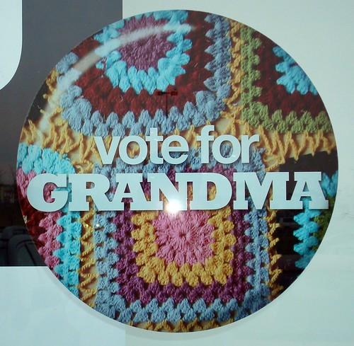 Vote Me grandma