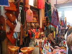 Buy a slipper from Central Market - Things to do in Casablanca