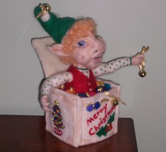 Edwin the Elf Right Side/Front View