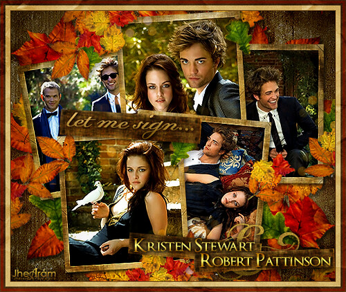 Kristen Stewart & Robert Pattinson - Let Me Sign