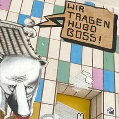Wir tragen Hugo Boss!