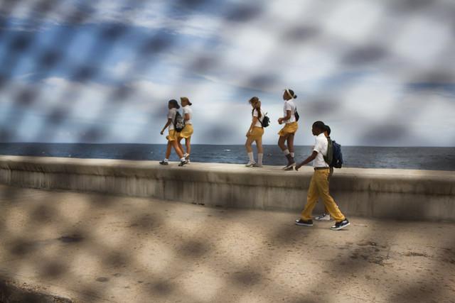 Malecón de la Habana, Cuba.