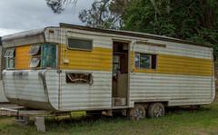 vehicle, shack, trailer, land vehicle, travel trailer,