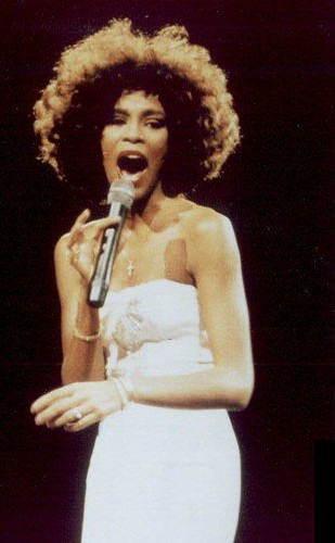 Whitney Houston in New Jersey 1986