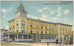 Lancey House Hotel, Pittsfield, Maine