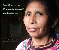 Portada de nuestro libro: Las Mujeres de Puente de Amistad