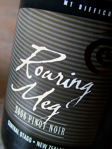 Roaring Meg Pinot Noir