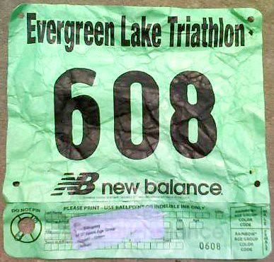 Evergreen Lake Triathlon 2008